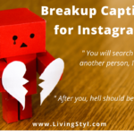 Breakup Captions for Instagram