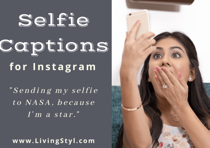 Selfie Captions for Instagram